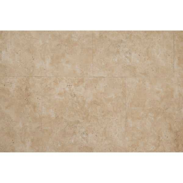 Wildrose Collection Vinyl in Gold Travertine - (35.66sqft/case)