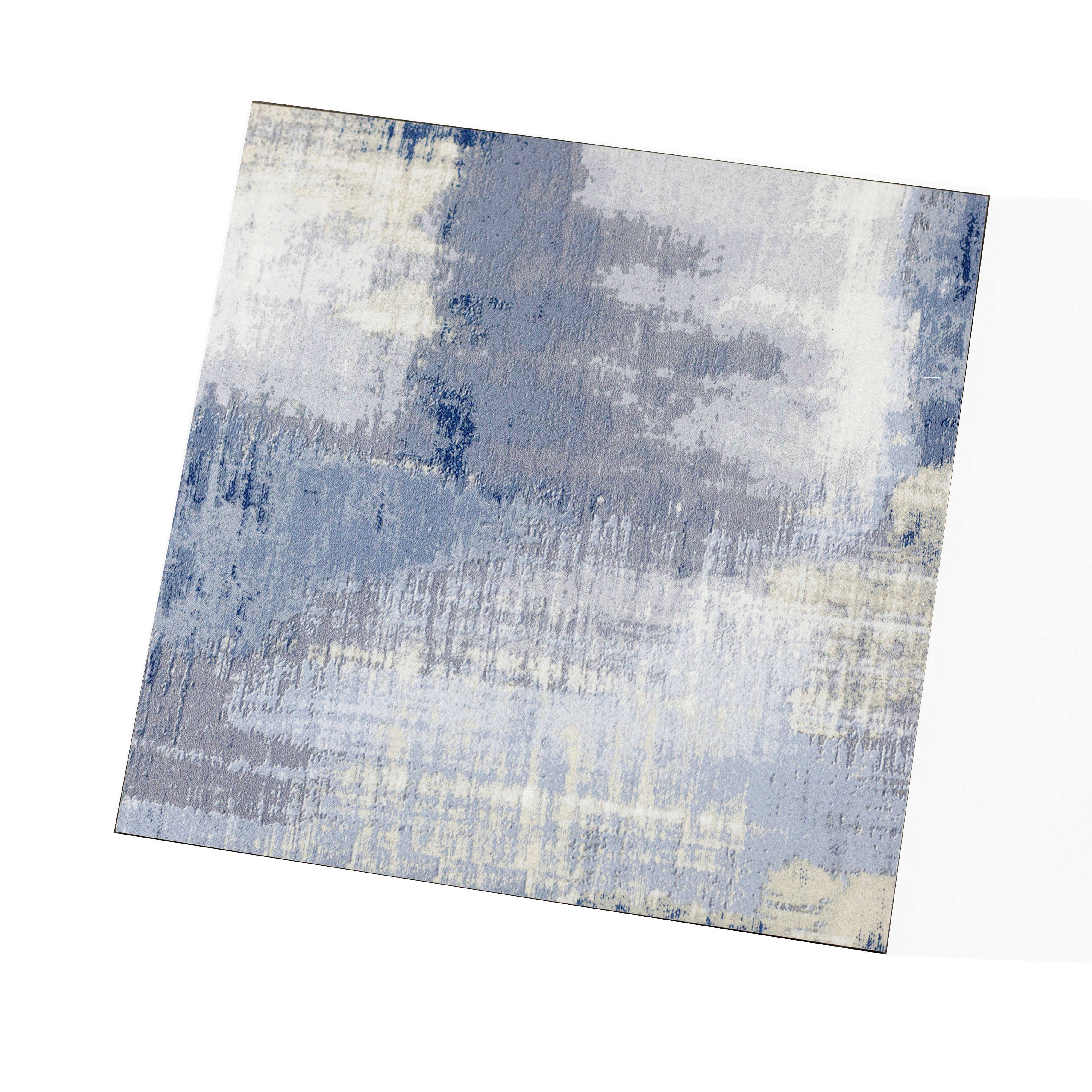 Abolos- Nature 8' x 8' Glass Subway Tile in Cement Blue/Gray (13.33sqft / 30pc Box)