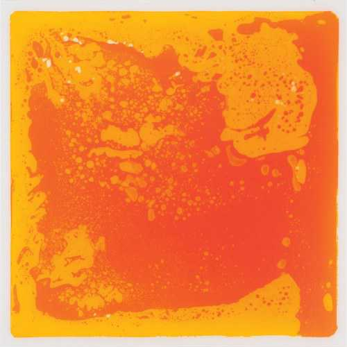 Liquid Tile Mat Orange